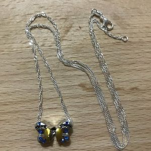 Mother daughter silver necklace. Price is firm